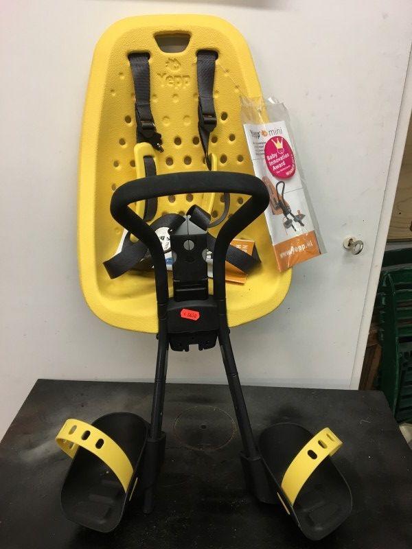 GMG Yepp Mini Voorstoeltje geel